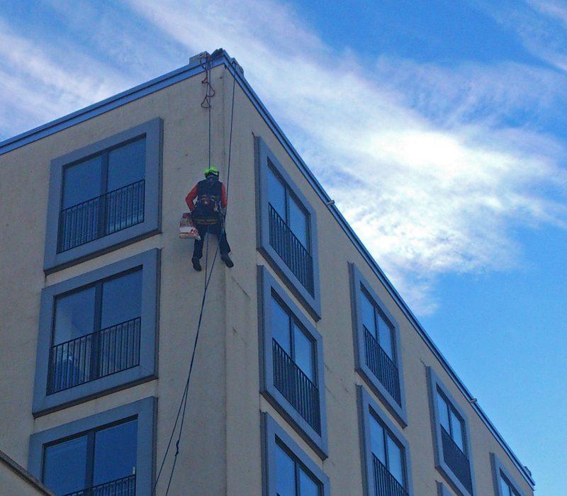 Baudienstleistung - Flachdach Sanierung